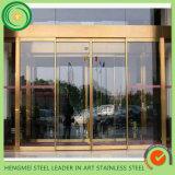 Дверная рама нержавеющей стали 304 золотистая для украшения конструкции