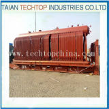 Double Drums D Type Coal Fired Steam Boiler pour Textile Industry