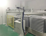 Module automatique de panneau solaire traitant la ligne