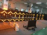 Im Freienverkehr P20 farbenreiche LED-Bildschirmanzeige-Baugruppe, LED-Pfeil-Bildschirmanzeige-Zeichen