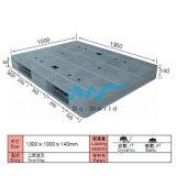 De vlakke Plastic Pallet dw-1310c1 van het Gezicht van de Oppervlakte Dubbele