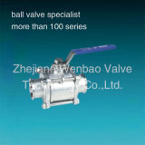 шариковый клапан шарикового клапана 3PC 3PC High Pressure