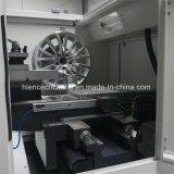 Ce одобрил Lathe CNC машины ремонта оправы заполированности колеса сплава