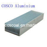 Radiateur en aluminium/en aluminium pour l'éclairage de DEL