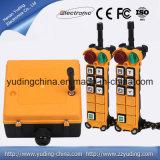 Grue sans fil 12V à télécommande F24-6D Telecrane par radio industriel Contol éloigné F24-6D