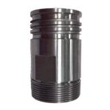 Pièces de précision Oil Pipe CNC Connecteur usinage de pièces / partie tournante