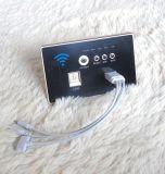Standard di carico senza fili del nero With118 del pannello dello zoccolo del USB di WiFi del router senza fili di Ap incluso parete