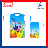 Healong volles Sublimation-Drucken-Polo-Hemd