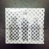 Подгонянная коробка PVC для косметик с печатание Silk-Screen