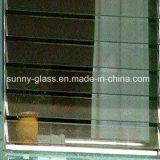 Glace claire d'auvent/glace en verre claire d'auvent/guichet