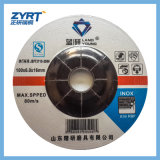 Roda de moedura T27 para o metal com o disco do abrasivo do engranzamento