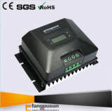 2017 contrôleur solaire neuf de charge de la batterie 70AMP MPPT du noir MPPT150/70d 12V 24V 36V 48V LiFePO4 d'écran LCD