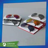 Supports d'affichage acrylique clairs, lunettes de soleil en plexiglas