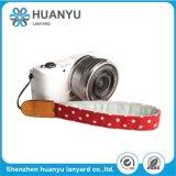 Colhedor impresso cinta da garganta do negócio de forma para a câmera