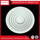 Difusor redondo de alumínio do teto da tampa dos respiradouros de ar da ventilação