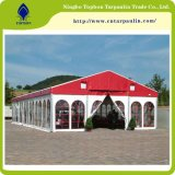 PVC結婚式のテントのビニール防水ファブリックポリエステルコーティング