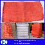 Sacchetto di plastica della maglia usato per la verdura