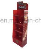 Présentoirs faits sur commande commodes de livre de carton, étalage d'étage de mode, étalage de position d'étage