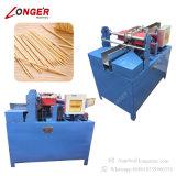 機械を作る産業つまようじの生産ライン木のつまようじ