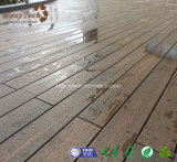 Decking en bois de tenue de protection individuelle de l'épreuve WPC de brouillon des graines de qualité bon marché pour l'étage