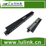 24 gerências portuárias do cabo de painel de correção de programa com o módulo de 6A UTP