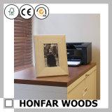 Незаконченная рамка фотоего изображения DIY деревянная для подарка