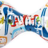 Rueda de equilibrio elegante de Hoverboard de la pintada del agua de la impresión blanca de la transferencia 10inch