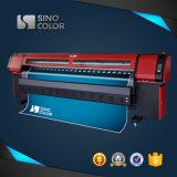 Cabeça de cópia solvente da impressora Withspt510/50pl do plotador 3.2 do medidor Trustful de China, máquina de impressão do grande formato para a impressora de Digitas Km-512I