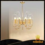 Indicatore luminoso Pendant della decorazione dorata moderna della sala da pranzo (GD18162P-D600)