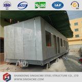 不規則なサイズの溶接の容器の家