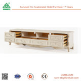 Tableau de thé de modèle moderne de table basse en bois solide de la qualité 2017