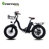 [350و] [أمس-تدن-01] 20 بوصة يطوي إطار العجلة سمين درّاجة كهربائيّة