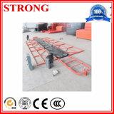 Plate-forme électrique suspendue actionnée d'échafaudage de plate-forme à vendre
