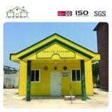 Casa de campo Prefab da construção de aço do painel de sanduíche feita em China