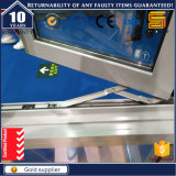 Finestra di alluminio della stoffa per tendine personalizzata formato di vetratura doppia dell'oscillazione