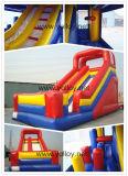 Grand toboggan gonflable classique pour enfants et adultes