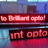 Enkele kleur programmeerbare Moving Message LED Display