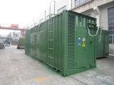 комплект генератора высокой интегрированный электростанции Biogas 600kw Containerized