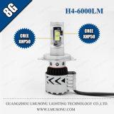 Lmusonu極度の明るい12V 35W 6000lm 8g H4車LEDのヘッドライト車のアクセサリ