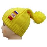 Bonnet tricoté de haute qualité avec broderie