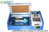 Holz/lederner Laser-Ausschnitt-Gravierfräsmaschine 3D CO2 Laser