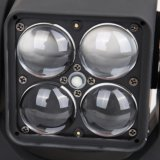 Mini LED indicatore luminoso mobile DMX della fase del fascio dello stroboscopio del DJ della testa dello zoom RGBW della tabella 4X10W