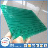 Feuille extérieure élevée de polycarbonate de lucarne de la transmission de la lumière 10mm