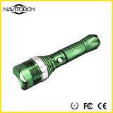 Tocha recarregável do diodo emissor de luz do CREE ajustável XP-E do alumínio (NK-04)