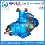 Huagngongの化学転送のための電気ステンレス鋼の双生児ねじポンプ