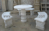 SteinMarble Garten Chair für Antique Garten Furniture (QTC004)
