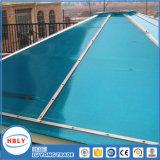 Anti strato esterno del policarbonato del riparo della pioggia del tetto del coperchio di goccia