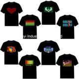 T-shirts ordonnancés de clignotement d'EL