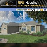 Architekturentwurf des Landhauses für Familien-Leben