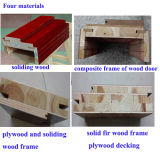 Wood plein Exterior Door pour House (M-WC06)